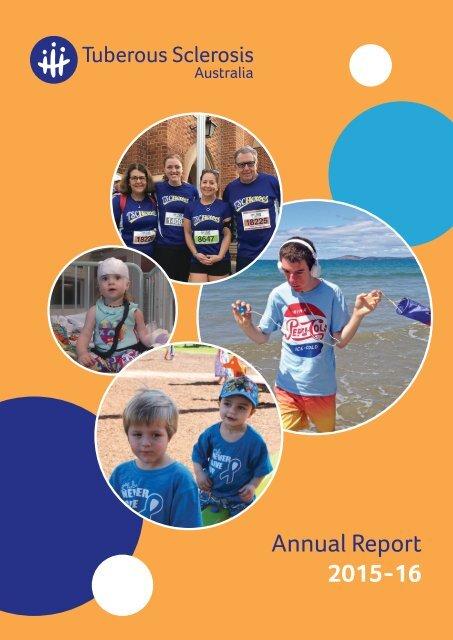 Tuberous Sclerosis Australia Annual Report 2015-16