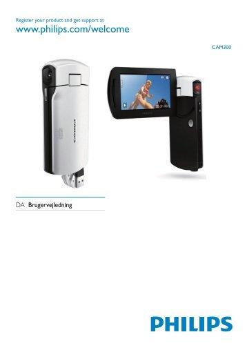 Philips Caméra HD - Mode d'emploi - DAN