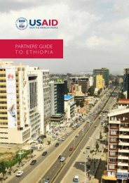 PARTNERS' GUIDE TO ETHIOPIA