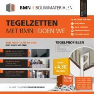 BMN krant - tegelzetten met bmn > doen we. Uitgave november 2016