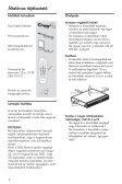 Philips Système Home Cinéma DVD - Mode d'emploi - HUN - Page 6