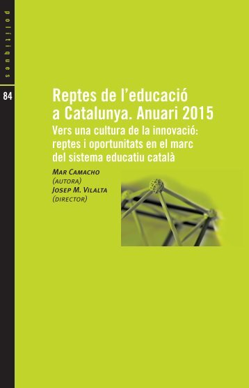 Reptes de l'educació a Catalunya Anuari 2015