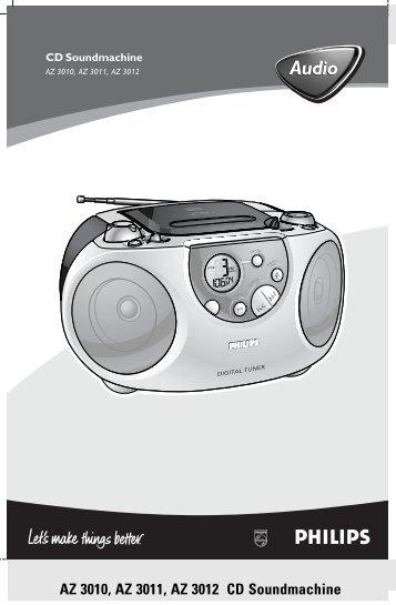 Philips Lecteur de CD - Mode d'emploi - POL