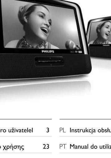 Philips Lecteur de DVD portable - Mode d'emploi - ELL