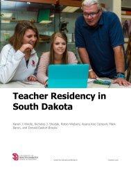 Teacher Residency in South Dakota