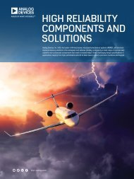 HIGH RELIABILITY COMPONENTS AND SOLUTIONS