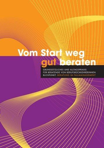 """""""Vom Start weg gut beraten"""" (PDF)"""