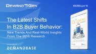 The Latest Shifts In B2B Buyer Behavior