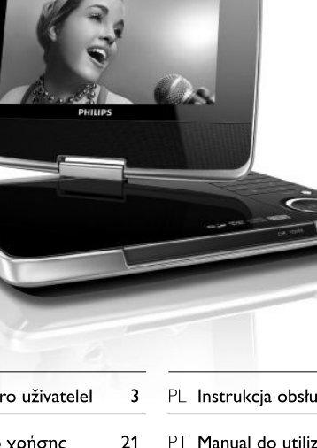 Philips Lecteur de DVD portable - Mode d'emploi - FIN