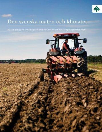 Den svenska maten och klimatet - LRF