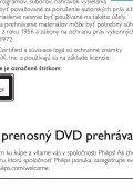 Philips Lecteur de DVD portable - Mode d'emploi - SLK - Page 6