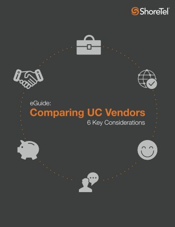 Comparing UC Vendors
