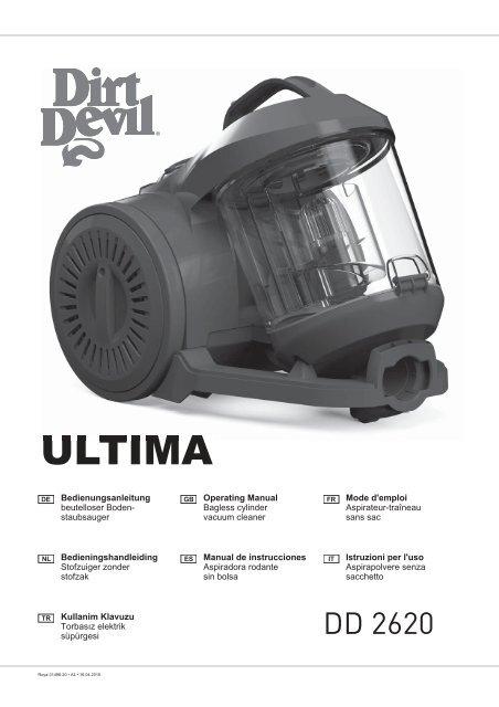 t/élescopique de tube daspirateur pour Dirt Devil DD 2620/Ultima