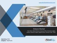 Dialysis Market - Analysis of key market players and strategies