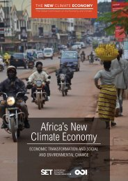Africa's New Climate Economy