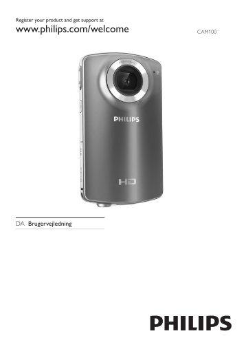 Philips Caméscope HD - Mode d'emploi - DAN