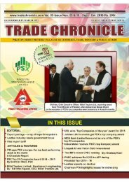 Trade Chronicle September - December 2016