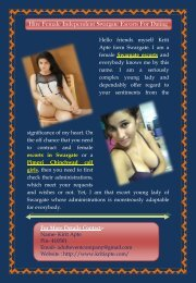 Female Independent Swargate Escorts Are Here For Dating