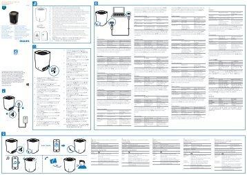 Philips enceinte portable sans fil - Guide de mise en route - JPN