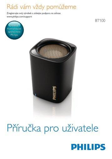 Philips enceinte portable sans fil - Mode d'emploi - CES