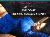 Wonderful world of top Chennai Escorts Services by Rinky Thakur