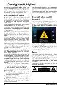 Philips Projecteur LED intelligent Screeneo - Mode d'emploi - TUR - Page 4