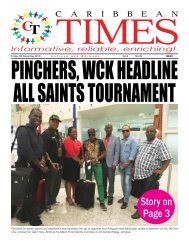 Caribbean Times 29th Issue - Friday 4th November 2016