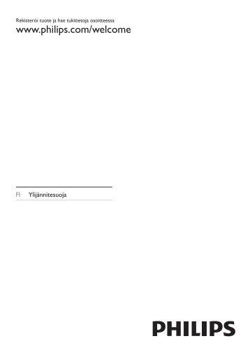 Philips Parasurtenseur pour Home Cinéma - Mode d'emploi - FIN