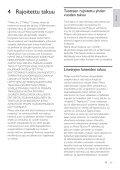 Philips Parasurtenseur pour Home Cinéma - Mode d'emploi - FIN - Page 6