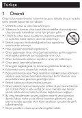 Philips SalonDry Control Sèche-cheveux - Mode d'emploi - TUR - Page 3
