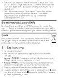 Philips SalonDry Control Sèche-cheveux - Mode d'emploi - TUR - Page 4