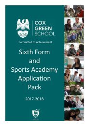 and Sports Academy Applicaon Pack