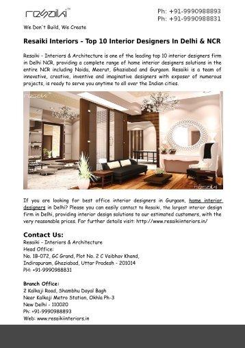 Architects In Delhi Ncr best architects in delhi ncr delhi