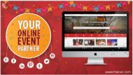 India's First Online Event Planning Portal