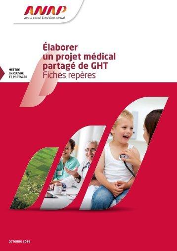 Élaborer un projet médical partagé de GHT Fiches repères kj