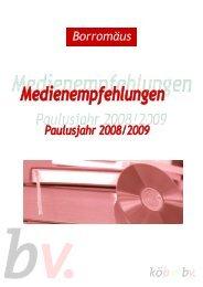 Paulusjahr 2008/2009 - Borromedien