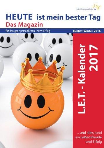 Magazin 2016 Herbst/Winter