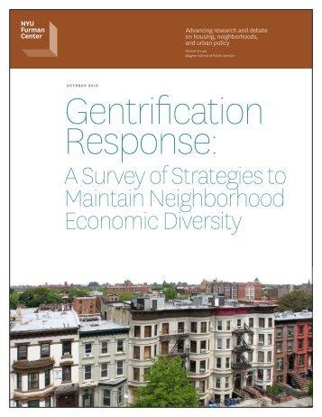 Gentrification Response