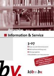 Information & Service 3-07 - Borromedien