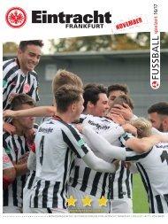 Eintracht Frankfurt Spielzeit 16/17 November 2016