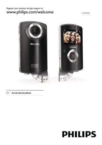 Philips Caméra HD - Mode d'emploi - SWE