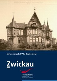 Verkaufsangebot Villa Dautzenberg - Stadt Zwickau