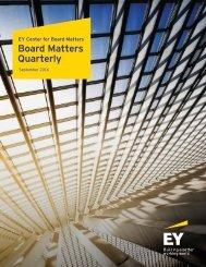 Board Matters Quarterly