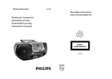 Philips Lecteur de CD - Mode d'emploi - CES