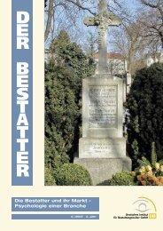 Der Bestatter als Trauerredneri am 23. und 24. November 2007