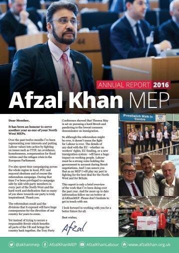 Afzal Khan MEP