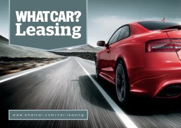 WhatCar? Leasing Brochure Flip