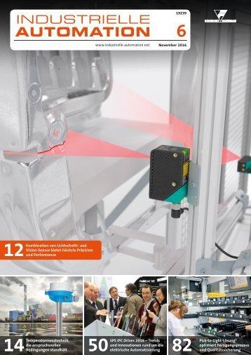 Industrielle Automation 6/2016