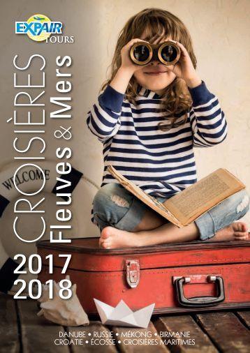 Brochure croisières fleuves et mers 2017
