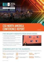 CSX NORTH AMERICA CONFERENCE REPORT